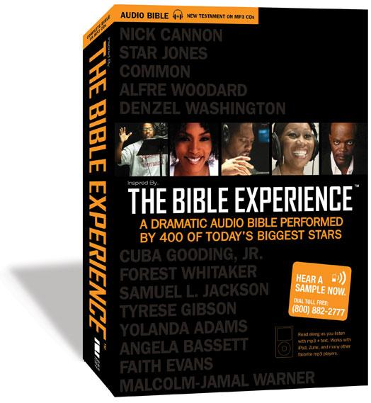 The Bible Experience Complete Bible 79 CDs Old and New Testament + Bonus DVD